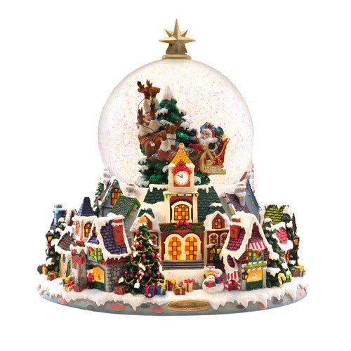 Starry Night Snow Globe Christopher Radko Ornaments