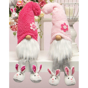 "HOUSESHOE HUNNIES GNOME WITH FUZZY HAT 14""(2 Styles Sold Separately)"