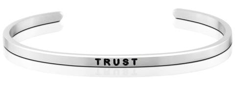 Trust - MantraBand - Silver