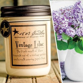 1803 Candles- 14oz Jar - Vintage Lilac