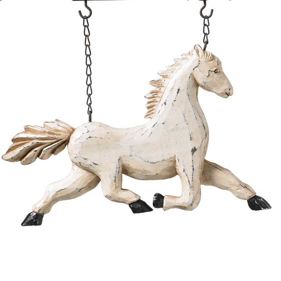 White Horse Replacement- Hanging (arrow sold separately)