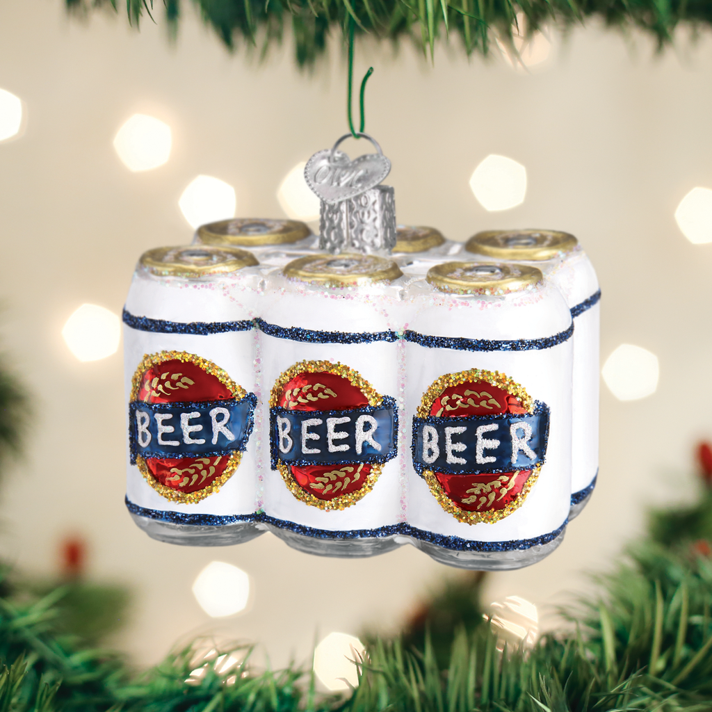 Six Pack of Beer Ornament - Old World Christmas