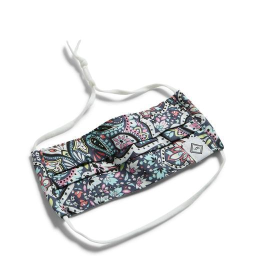 Youth Mask With Adjustable Straps-Vera Bradley BON BON MEDALLION