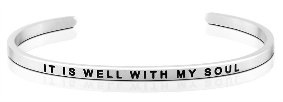 It Is Well With My Soul - MantraBand - Silver