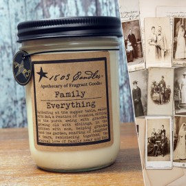 1803 Candles- 14oz Jar - Family Everything