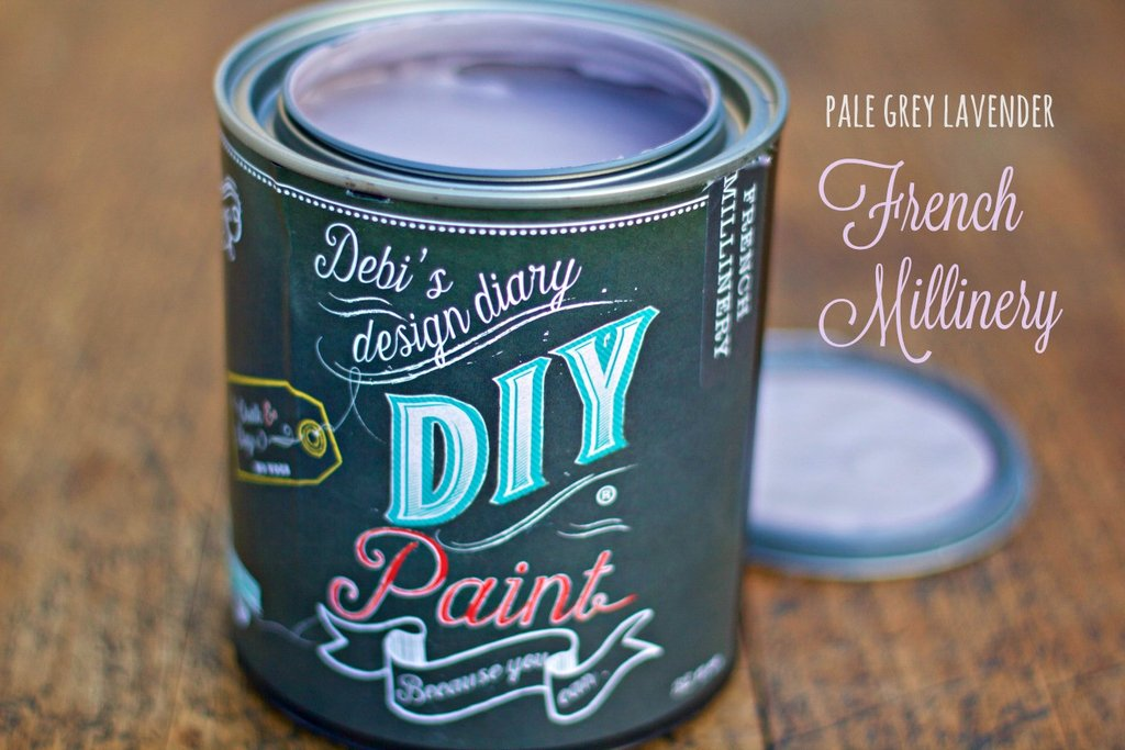 DIY Paint - French Millinery - Clay Based + Chalk