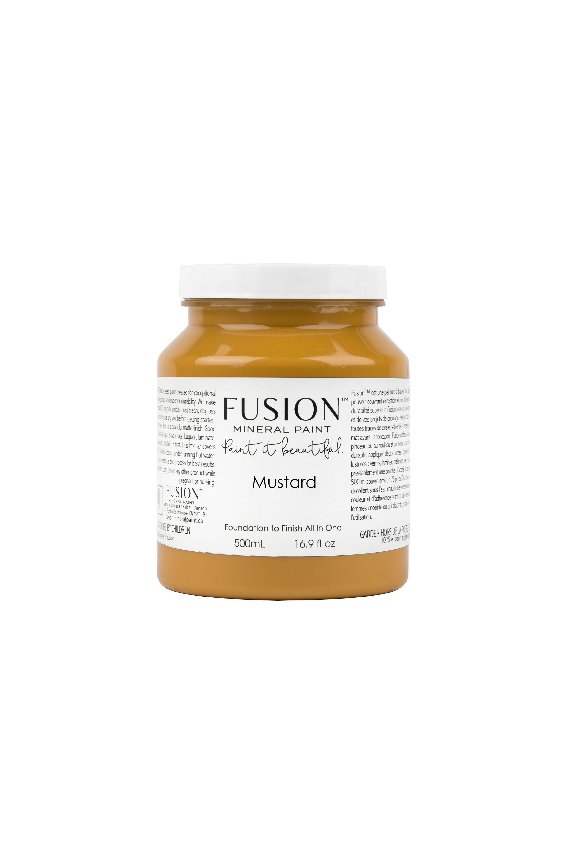 Mustard - Fusion Mineral Paint - 500ml Pint