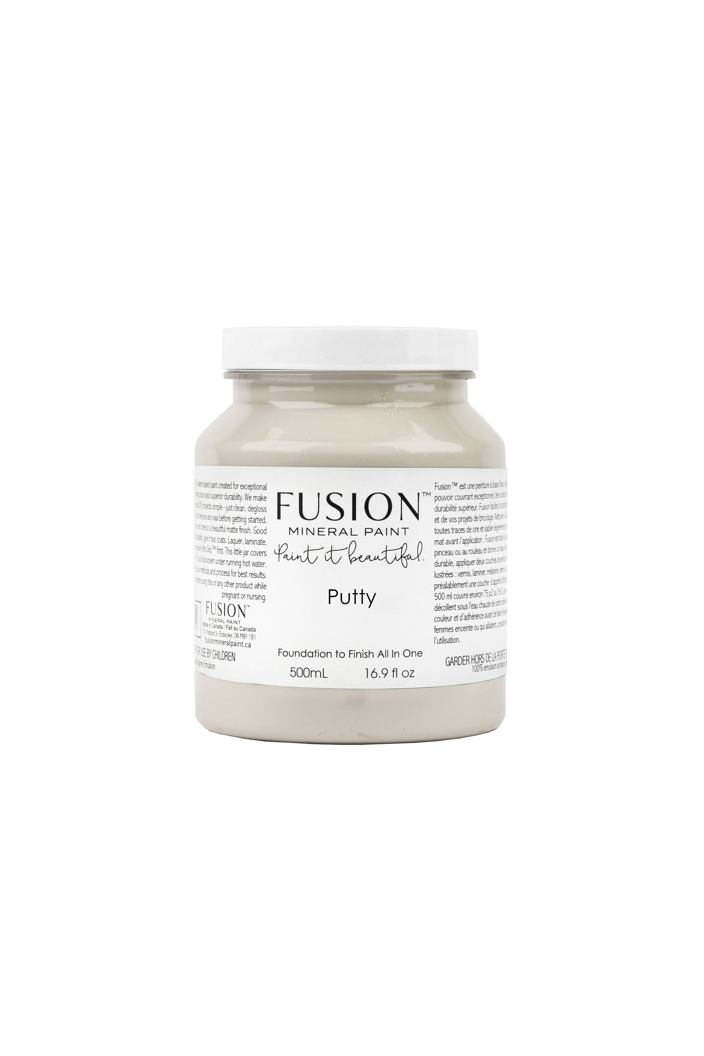 Putty - Fusion Mineral Paint - 500ml Pint