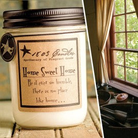 1803 Candles- 14oz Jar - Home Sweet Home