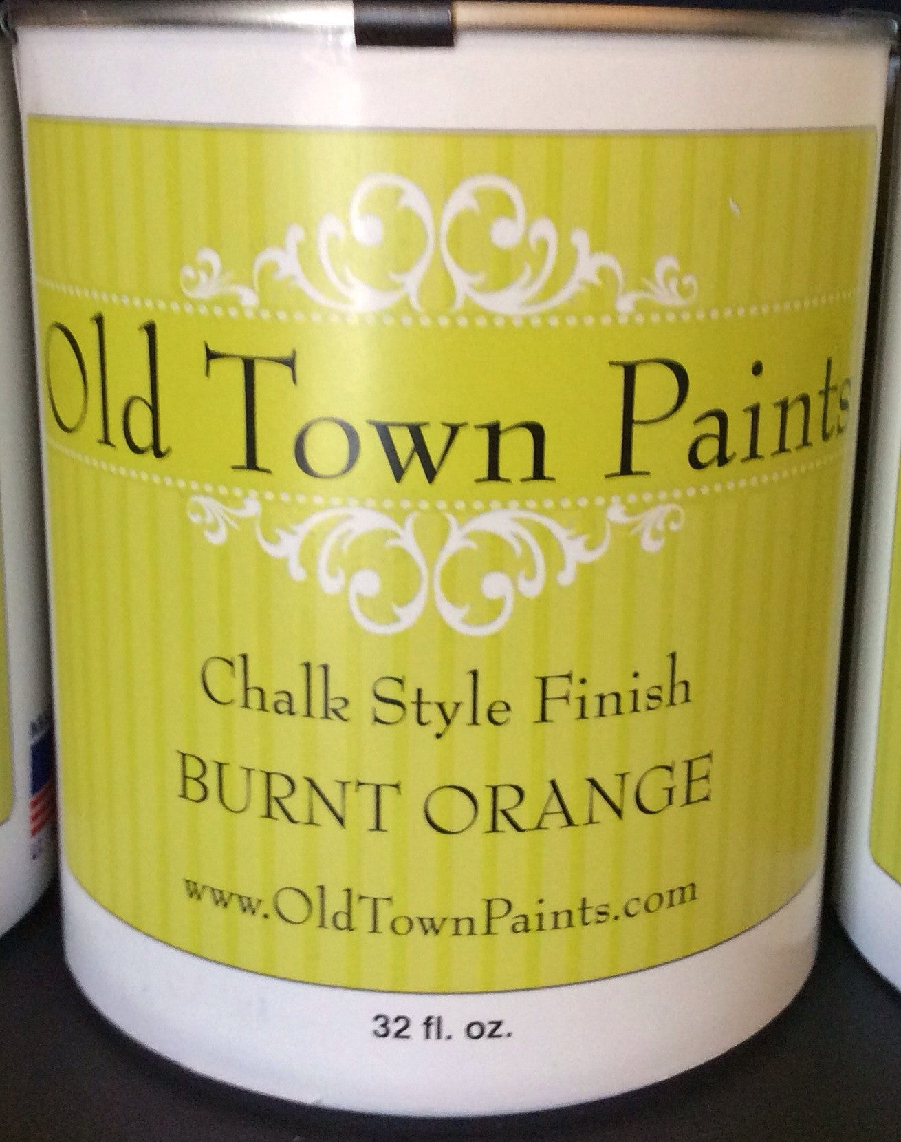 Chalk Style Finish Paint- 32oz- Burnt Orange