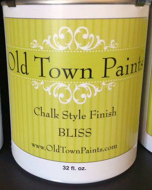 Chalk Style Finish Paint- 32oz- Bliss