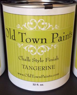 Chalk Style Finish Paint - 32oz - Tangerine