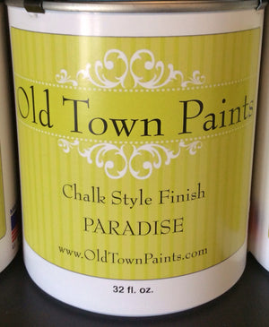 Chalk Style Finish Paint - 32oz - Paradise