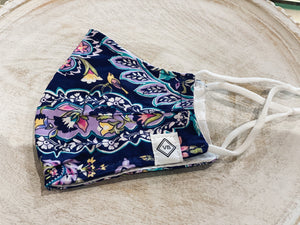 Vera Bradley Cotton Face Masks-FRENCH PAISLEY