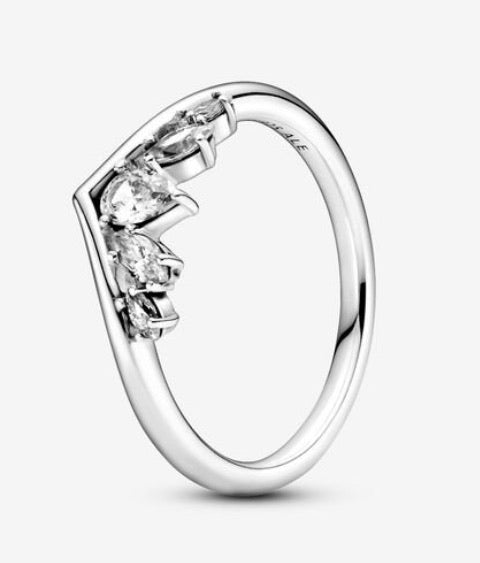 Sparkling Pear and Marquise Wishbone-Pandora