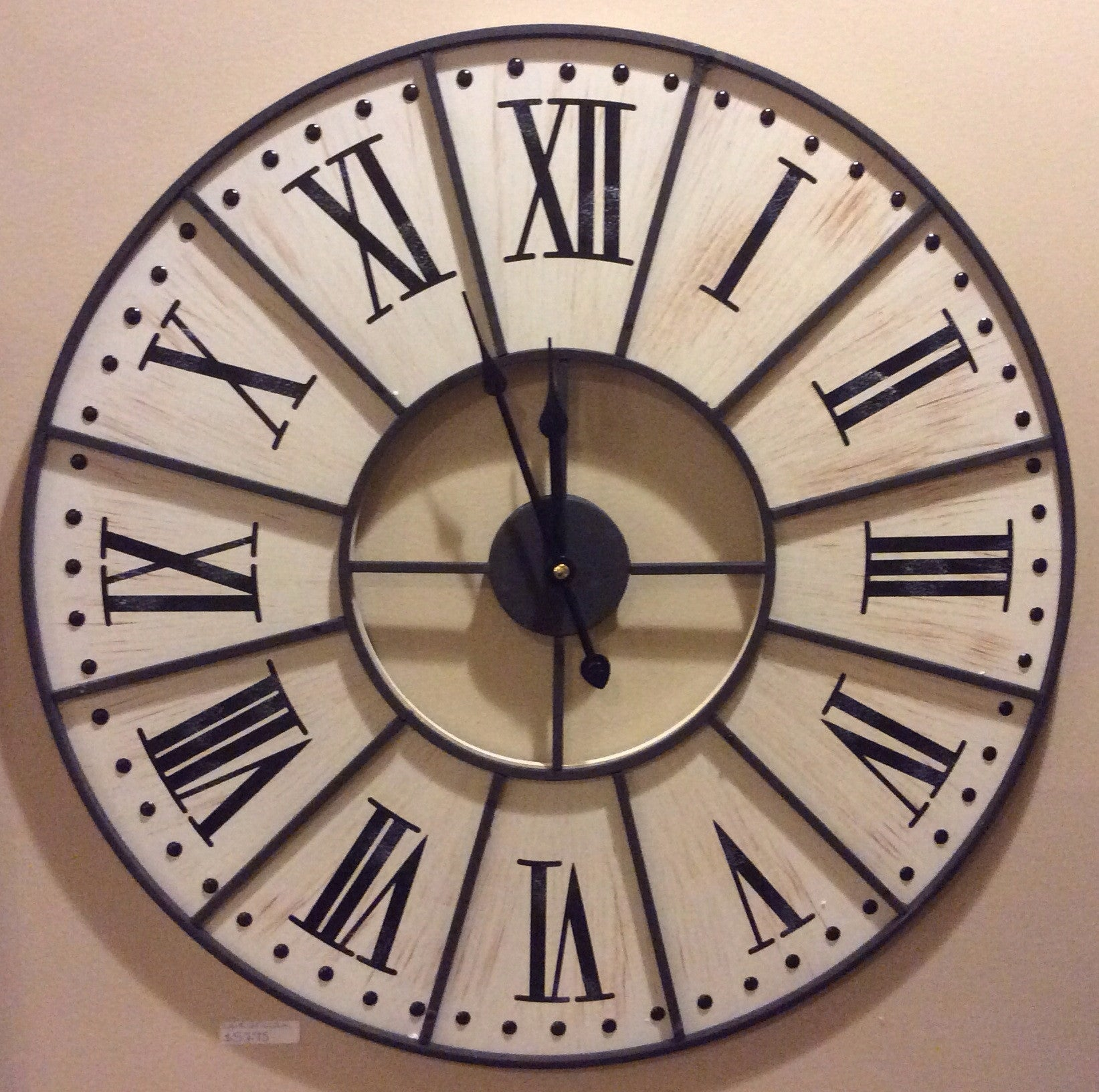 White Clock- 23 inch (11341A-WH)