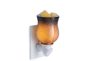 Obsidian Blown Glass Pluggable Warmer