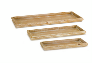 Wood Tray- 3 sizes- sold separately