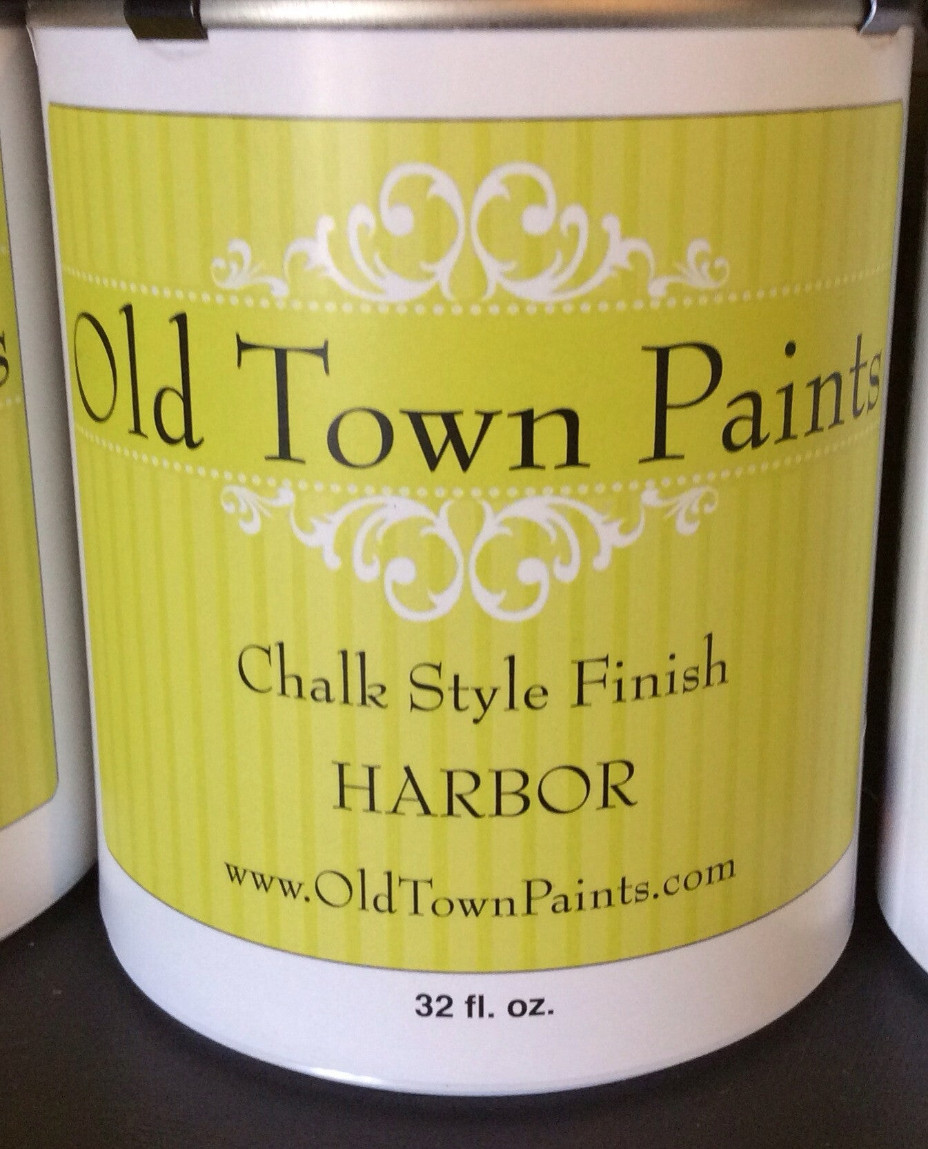 Chalk Style Finish Paint- 32oz- Harbor