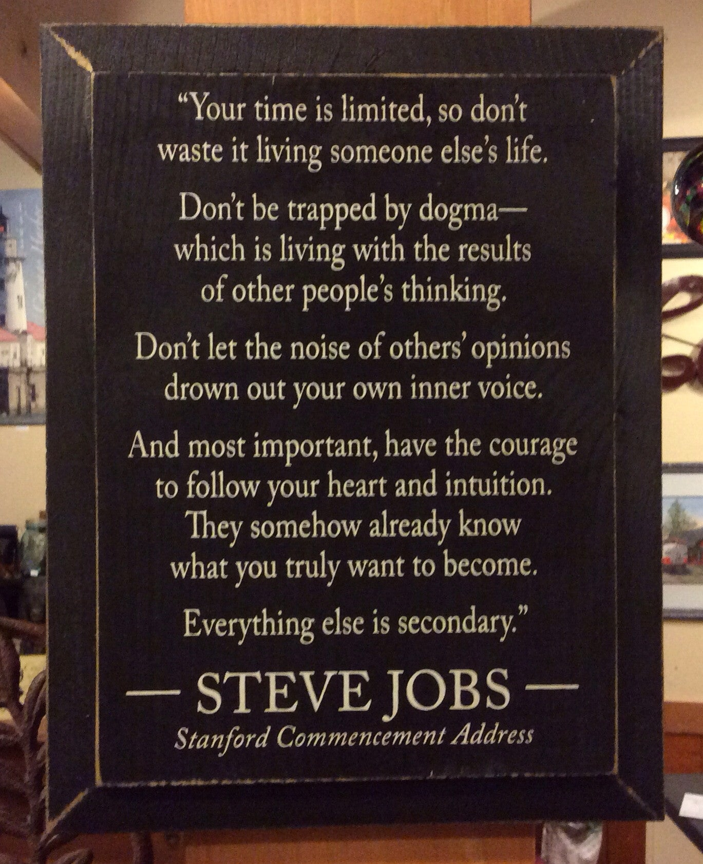 Your Time Is Limited So Don T Waste It Steve Jobs Quote