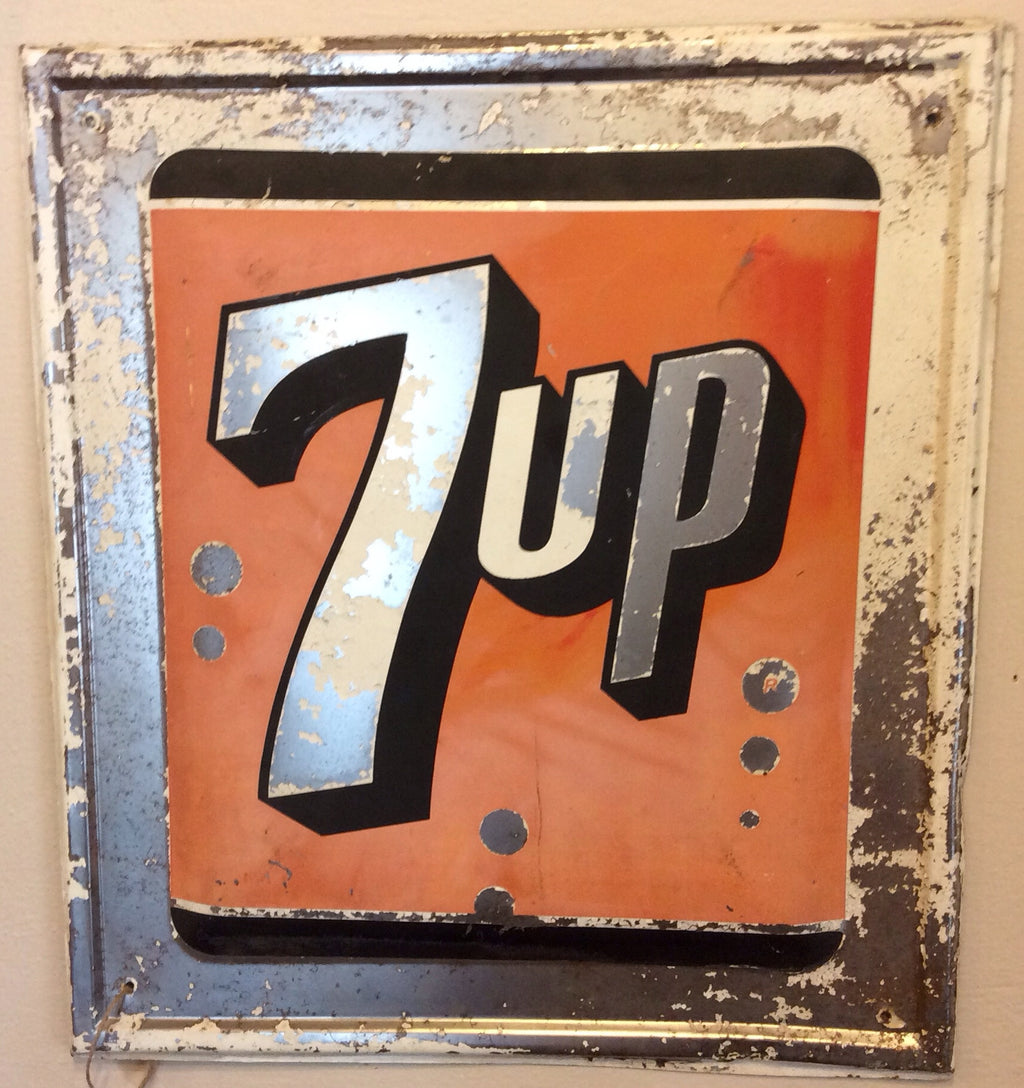 7-up Vintage Metal Sign