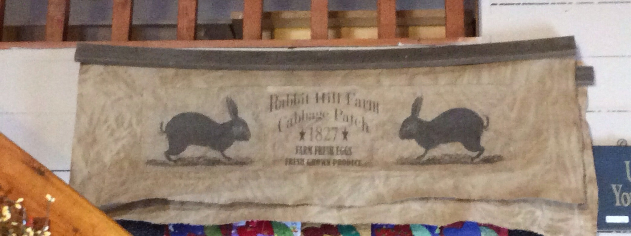Rabbit Hill Farm Cloth Wall Hanging