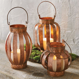 Copper Lanterns (3 Sizes)