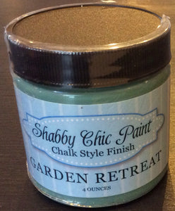 Shabby Chic Paint- 4oz- Garden Retreat