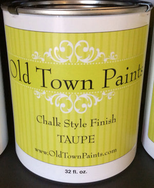 Chalk Style Finish Paint - 32oz - Taupe