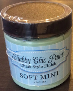 Shabby Chic Paint- 4oz- Soft Mint