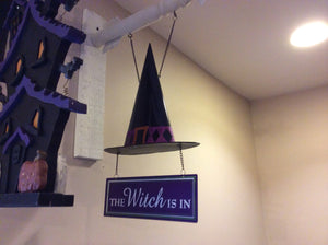 The Witch Is In Tin Hat Replacement