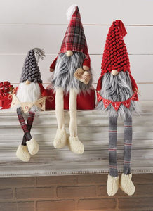 Dangle Leg Gnome- 3 Sizes Sold Separately