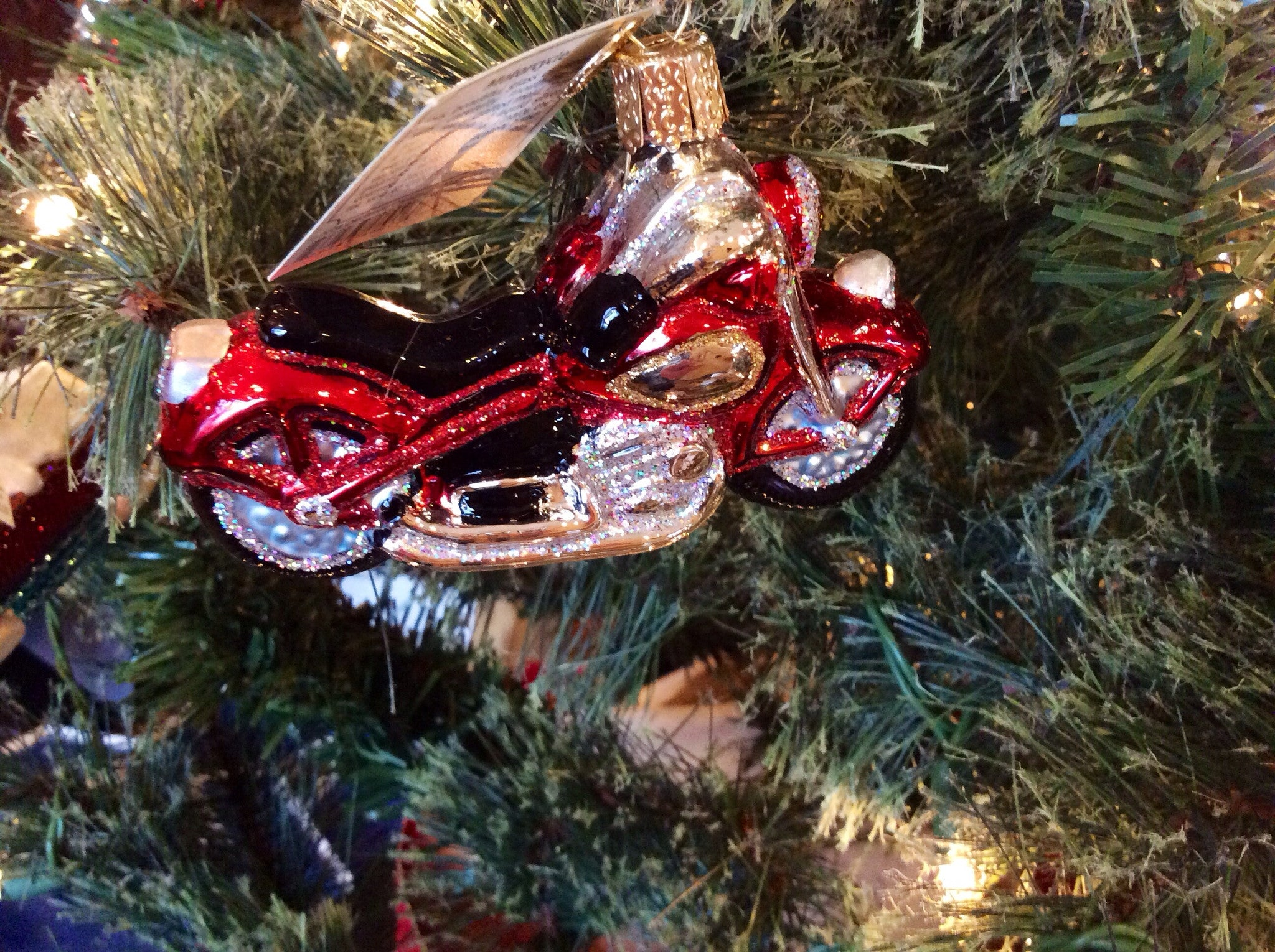 Motorcycle Ornament  Old World Christmas