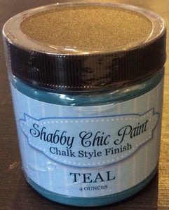 Shabby Chic Paint- 4oz- Teal