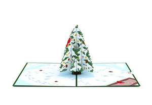 Christmas Tree 3D Card