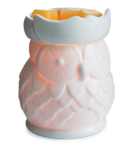 Porcelain Owl Fragrance Warmer