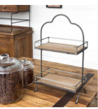 Cafe Display Rack