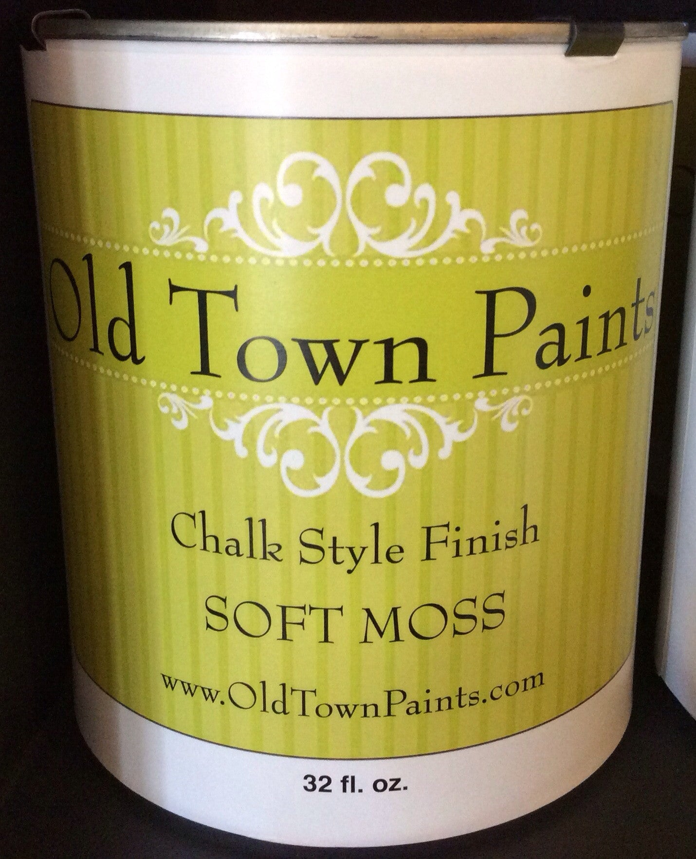 Chalk Style Finish Paint - 32oz - Soft Moss