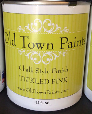 Chalk Style Finish Paint - 32oz - Tickled Pink