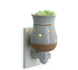 Rustic White Pluggable Warmer