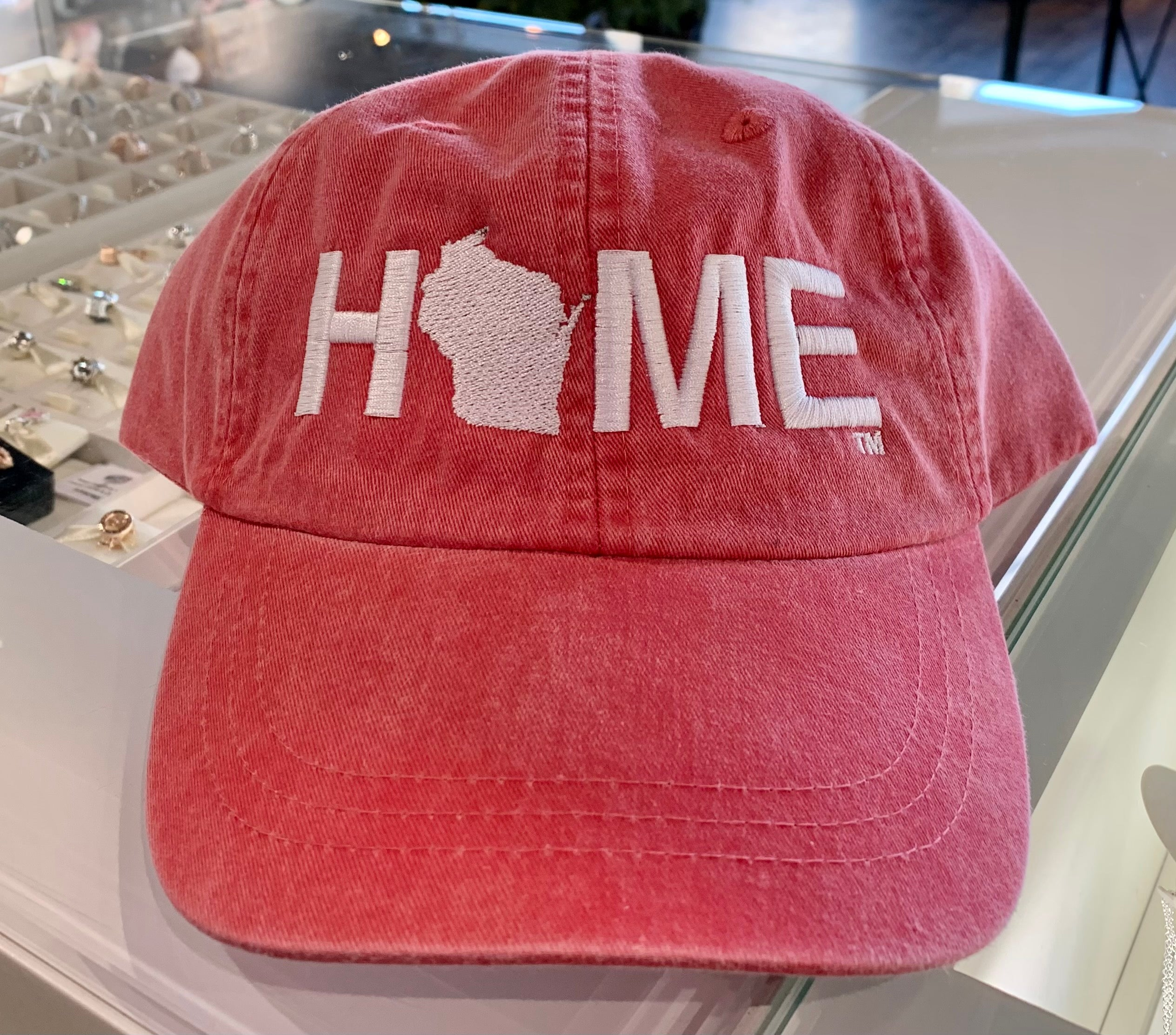 HOME twill hat - My State Threads - Poppy