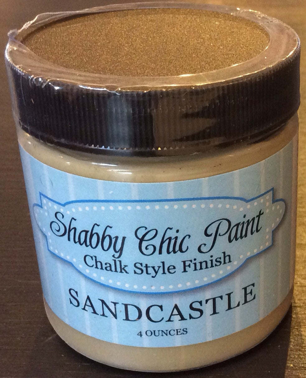 Shabby Chic Paint- 4oz- Sandcastle