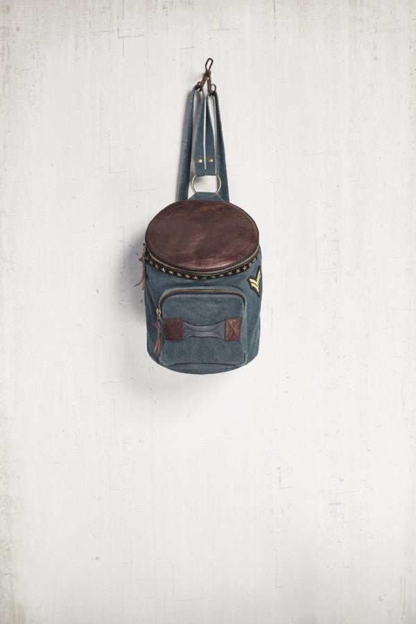Crew Backpack - Reclaimed Canvas Bag