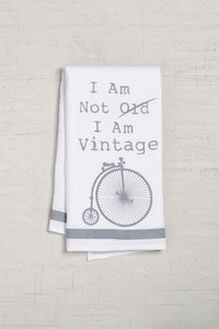 Vintage Bike Dishtowel