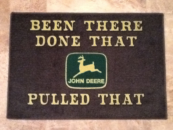 John Deere Door Mat Red Barn Company Store