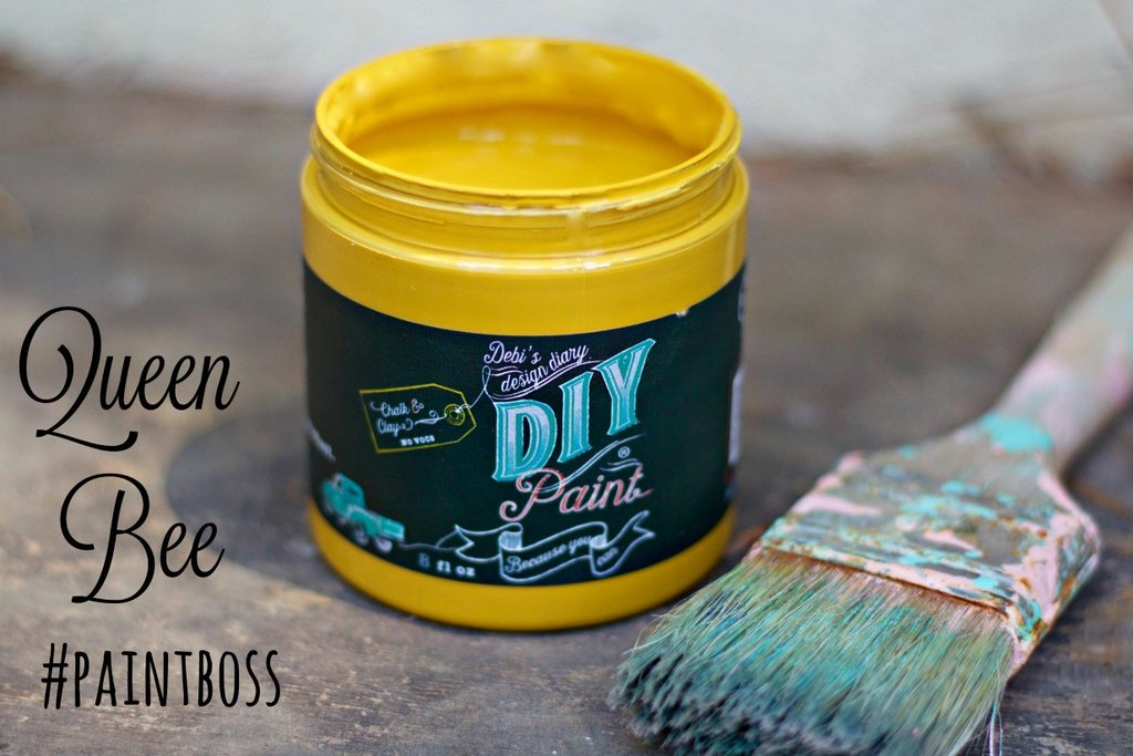 DIY Paint - Queen Bee - Clay Based + Chalk