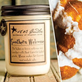 1803 Candles- 14oz Jar - Southern Welcome