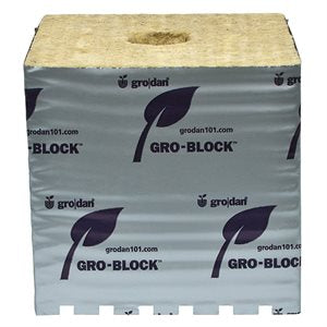 GRODAN GRO-BLOCKS HUGO 6'' (box of 64) - HydroponicsClub