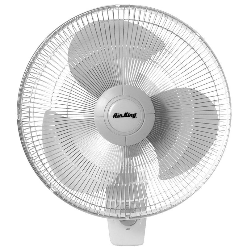 "AIR KING OSCILLATING WALL FAN 16"" - Hydroponics Club Canada"