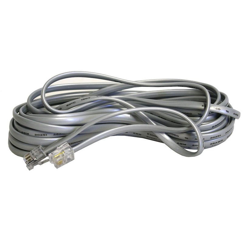 GROZONE RJ11 CABLE 25' FOR OB2+HT2 - HydroponicsClub